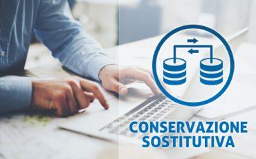 Prodotti informatici – Dematerializzazione, Conservazione sostitutiva.